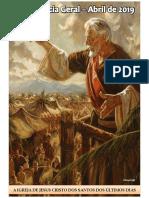 Caderno Da Conferência Geral - Abr. 2019