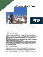 Doctrina Católica sobre el Papa.docx