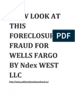 Ndex West Foreclosure Fraud