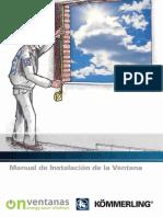 Manual Montaje Ventana