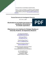 ZARZOSA ESCOBEDO, Luis (2007) - Efectividad de una interfaz para lectura estratégica en estudiantes universitarios.pdf