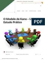 O Modelo de Kano - Um Estudo Prático - Sequoia Consultoria