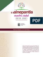 Manual básico de identidad, Tlalnepantla 2019