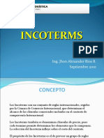 Incoterms Clase IV