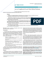 Abses Kepala dan Leher pada Komplikasi Akut Otitis Media Akut- Jalur Penyebaran dan Klasifikasi