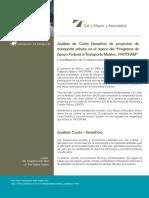 ACB de Pytos de Tpe Ubn de Acuerdo a PROTRAM_2009 CalyMayor