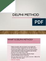 5 Delphi Method
