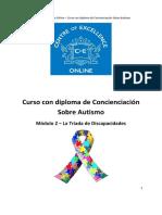 Concienciación Sobre Autismo-Módulo 2