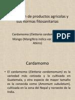 Exportación de Productos Agricolas y Sus Normas Fitosanitarias