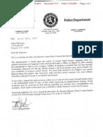 Letter of revocation