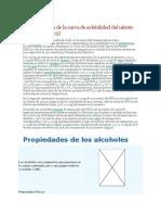Determinación de La Curva de Solubilidad Del Nitrato de Potasio