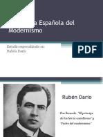 Diapositiva Ruben Dario