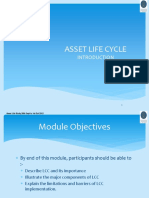 1.0 Asset Life Cycle