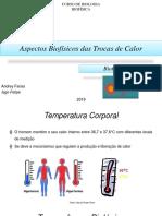 Aspectos Biofísicos das Trocas de Calor
