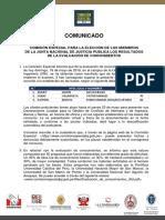 Comunicado 006 2019 CE