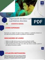 Semana 1 - Sesión 2- Organizacion de Datos Cualitativos y Cuantitativos Discretos