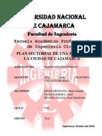 Plan Sectorial de una Zona de la Ciudad de Cajamarca.docx