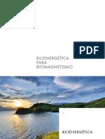 BIOENERGÉTICA PARA BIOMAGNETISMO