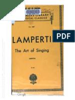 LAMPERTI, Francesco - The art of singing - 1890.pdf