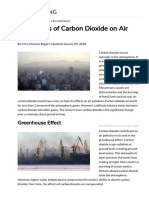 The Effects of Carbon Dioxide on Air Pollution _ Sciencing