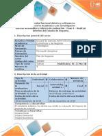 Guía de Actividades y Rúbrica de Evaluaci