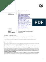 AD170 Diseño Organizacional y Procesos 201601