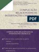 PDF_Complicação relacionadas às intervenções cirúrgicas