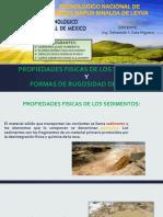 Propiedades Fisicas de Los Sedimentos y Formas de Rugosidad Del Lecho