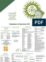 Calendario Nacional 2019 Oficial