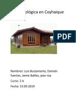 Casa Ecológica en Coyhaique