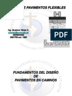 Manual para Diseño de pavimentos flexibles