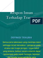 Respon Imun Terhadap Trauma - Presentasi