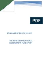 ScholarshipPolicy2018-19