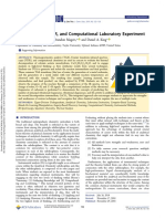 Integrated TGA, FTIR, And Computational Laboratory Experiment