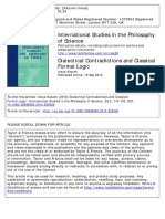 Dialectical and Formal Logic