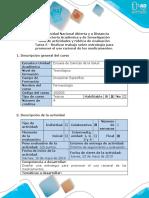 Guía de Actividades y Rúbrica de Evaluación - Tarea 5 - Realizar Trabajo Sobre Estrategia Para Promover Uso Racional de Los Medicamentos.