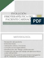 Evaluacion Fisioterapeutica Del Pte. Cardiaco