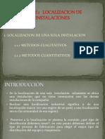 1.1 LOCALIZACION DE UNA SOLA INSTALACION (1).ppt
