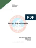 ENSAYO DE CONFERENCIA.docx