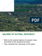 Law on Natural Resources