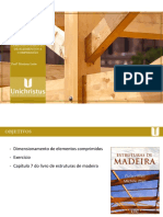 Aula 27 - Dimensionamento de Peças de Madeira a Compressão