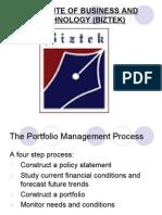 Intro to Portfolio Management