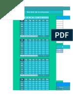 plan de publicación + calendario de días festivos + panel de administración + profesional