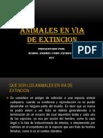 Animales en via de Extincion Harol