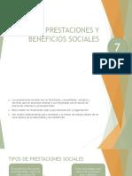 Prestaciones y Beneficios Sociales