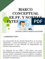 2. Marco Conceptual EE.ff. y Normas Internacionales
