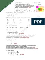 12-13.3 ESO.ejercicios y Problemas de Fracciones