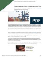 CCL_ Exportaciones a República Checa Se Cuadruplicaron en El 2018 _ Economía _ Gestion