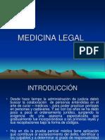 Clase 1 - Medicina Legal Generalidades.ppt
