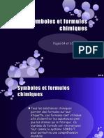 La Matière - Symboles Et Formules Chimiques